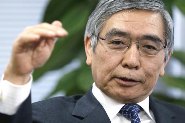 日本銀行総裁